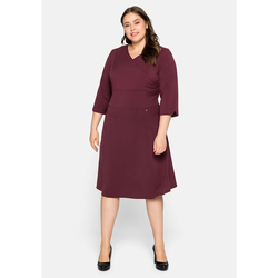 Sheego Kleid Sheego bordeaux