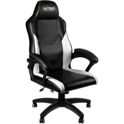 Nitro Concepts C100 Gaming-Stuhl Schwarz, Weiß