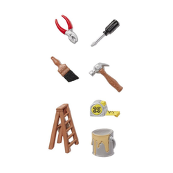HobbyFun Dekofigur Werkzeug, 7-tlg bunt