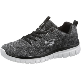 SKECHERS Graceful - Twisted Fortune black/white 38
