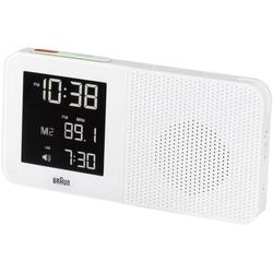 Braun 66022 Funk Wecker Weiß Alarmzeiten 1