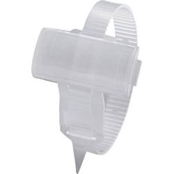 Zeichenträger mit Kabelbinder Montage-Art: Kabelbinder Beschriftungsfläche: 25 x 10mm