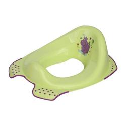 Lorelli Toilettentrainer Toilettenaufsatz Hippo, Toilettensitz mit Spritzschutz ergonomische Form grün