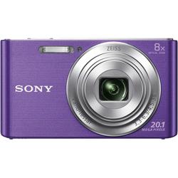 Sony DSC-W830 Kompaktkamera (ZEISS Vario-Tessar, 20,1 MP, 8x opt. Zoom) lila