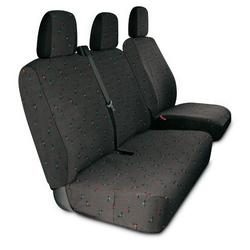 Sitzbezüge für Kleintransporter, Farbe schwarz