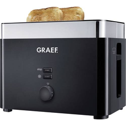 Graef TO 62 Toaster Schwarz