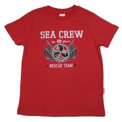 STUMMER T-Shirt Stummer Jungen T-Shirt rot SEA CREW RESCUE TEAM (1-tlg) 152