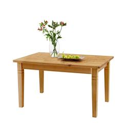 Massivholztisch aus Kiefer geölt verlängerbar