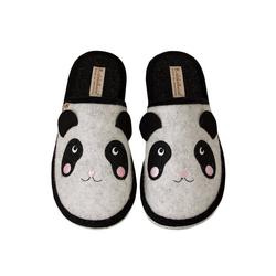 ADELHEID Panda Filzpantoffel Pantoffel 42/43
