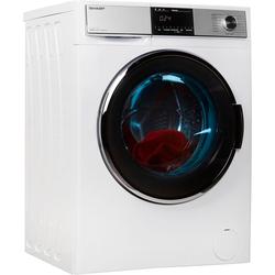 Sharp Waschtrockner ES-HDH9147W0-DE, 9 kg / 6 kg, 1400 U/Min, Waschtrockner, 34239311-0 weiß weiß