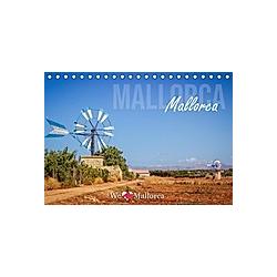 Mallorca, Mallorca (Tischkalender 2021 DIN A5 quer)