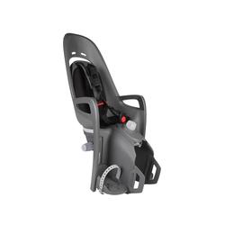 Hamax Zenith Relax mit GT-Adapter Kinderfahrradsitz, grau/schwarz