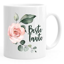 MoonWorks Tasse Kaffee-Tasse Beste Tante Geschenk Geschenk-Tasse MoonWorks®