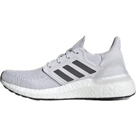 adidas Ultraboost 20 W dash grey/grey five/solar red 38