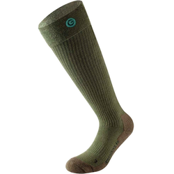 Lenz 4.0 beheizbare Socken, grün, Größe 39 40 41