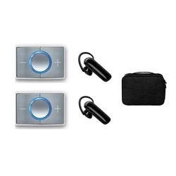 CEECOACH 2 Duo Set Weiss + Jabra Talk 25 Headset + Tasche