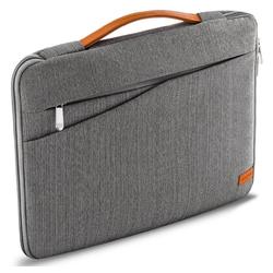 """deleyCON Businesstasche deleyCON Laptop Tasche bis 12"""" Zoll (30,4cm) Notebook Netbook MAC Grau"""