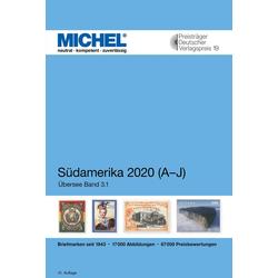 MICHEL Südamerika A-J 2020 als Buch von