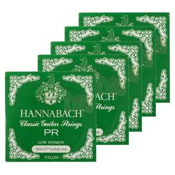 Hannabach 8153 LT G-Saite Low Tension grün 5er Pack