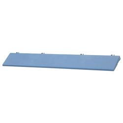 Bergo Flooring Klickfliesen-Kantenleiste, für Kunststofffliesen in blau