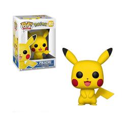 Funko Actionfigur Pop Games - Pokémon S1 - Pikachu, 9,5 cm