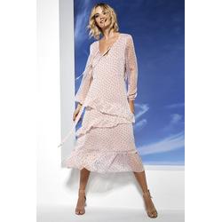 Lavard Romantisches Midi-Kleid mit Tupfen 88202  38