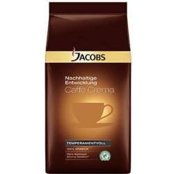 JACOBS Kaffee Caffè Crema Nachhaltige Entwicklung ganze Bohnen 1.000 g/Pack. 1kg