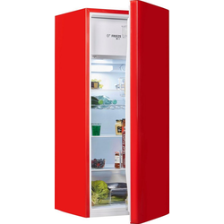 Hanseatic Kühlschrank HKS12851FR, 128,2 cm hoch, 51,9 cm breit rot