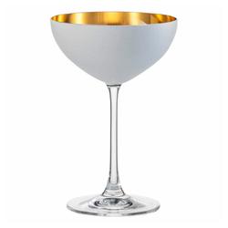Eisch Dessertschale Cosmo Weiß 250 ml, Kristallglas weiß