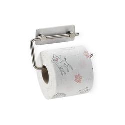 relaxdays Toilettenpapierhalter Toilettenpapierhalter ohne Bohren