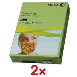 2x Farbiges Papier »Symphony« grün, Xerox