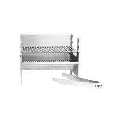FENNEK Holzkohlegrill FENNEK 2.0 - Outdoor Grill - 100% Edelstahl - zerlegbar - Grillfläche 37,6 x 24,3cm