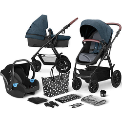 Kinderwagen Xmoov, multifunktional, 3in1, denim