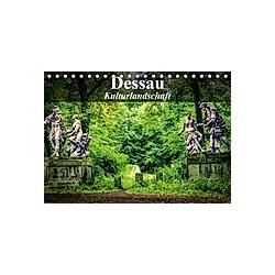 Dessau - Kulturlandschaft (Tischkalender 2021 DIN A5 quer)