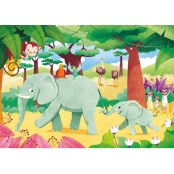 Clementoni Puzzle Play for Future - Tied Together 2 x 20 Teile 24771