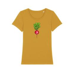 wat? Apparel Print-Shirt Radieschen 2XL