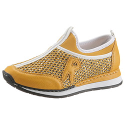 Rieker Slip-On Sneaker in glitzernder Optik 42