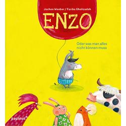 ENZO als Buch von Jochen Weeber