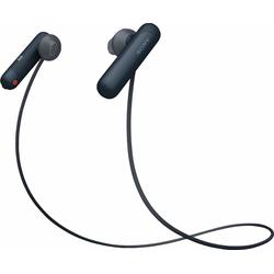 Sony WI-SP500 Sport-Kopfhörer (IPX4 wasserfest, bis zu 8 Stunden Akkulaufzeit) schwarz
