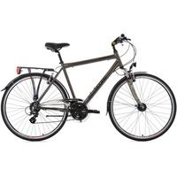 KS Cycling Herren-Trekkingrad, 28 Zoll, 24 Gang Shimano-Altus-Kettenschaltung, Norfolk gelb