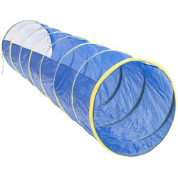 Kriechtunnel aus Nylon, Blau, 3 m, Nylon