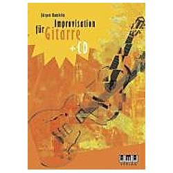 Improvisation für Gitarre  m. Audio-CD. Jürgen Kumlehn  - Buch