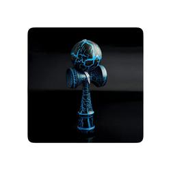 PRECORN Spiel, Kendama Geschicklichkeitsspiel mit Kugel Holzspielzeug Holz-Kugelfangspiel japanisches Geschicklichkeitsspiel Spielzeug blau