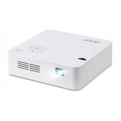 Acer Beamer C202i DLP Helligkeit: 250lm 854 x 480 WVGA 5000 : 1 Weiß