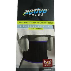 Bort Activecolor Rückenbandage L Schwarz