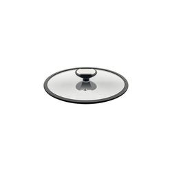 Berndes Topfdeckel Glasdeckel mit schw. Silikonrand Balance, (1-tlg), Glasdeckel mit Silikonrand Ø 24 cm x 24 cm