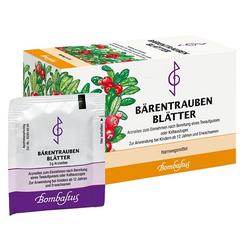 BÄRENTRAUBENBLÄTTER Filterbeutel 20X3 g