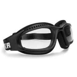 Bertoni AF113 Motorrad Brille, schwarz