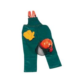 Schnittschutz Sicherheits Starter Set: Hose Gr.48, Helm, Handschuhe