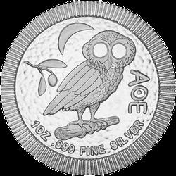 1 Unze Silber Eule von Athen 2021